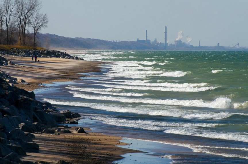 How to Renourish a Beach with a Forgotten Past: Indiana Dunes National Lakeshore